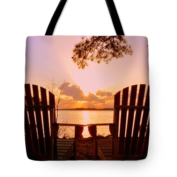 Sit Down And Relax Tote Bag