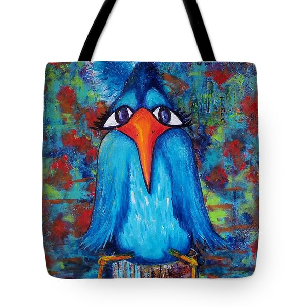 Sittin' At The Dock Of The Bay Tote Bag by Vickie Scarlett-Fisher