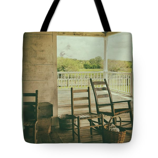 Sittin Place Tote Bag