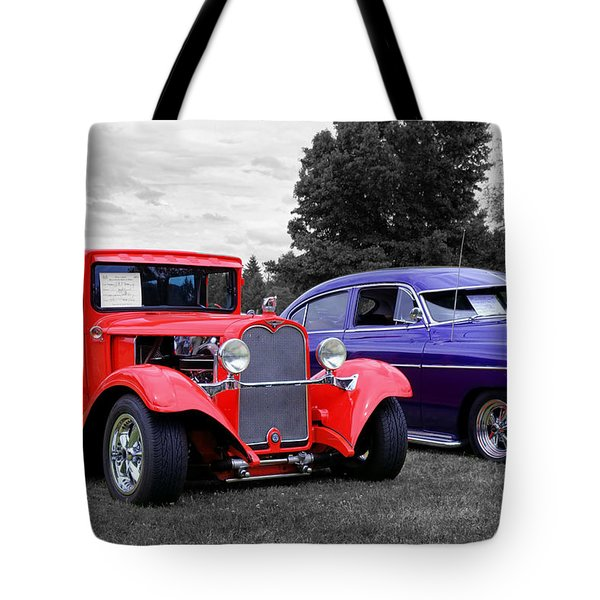 Tote Bag featuring the photograph Sittin Pretty by Tyra OBryant