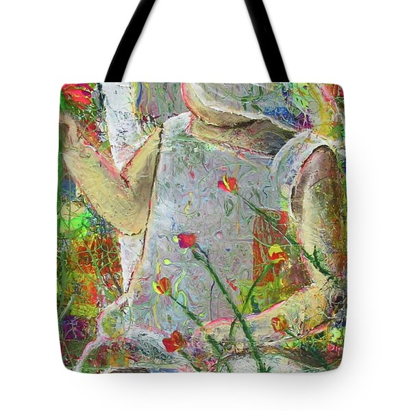 Sitting A Spell... Tote Bag
