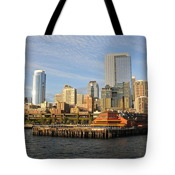 Sitting By The Dock On The Bay Tote Bag