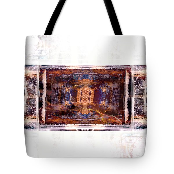 Tote Bag featuring the digital art Sitting By Your Side by Art Di