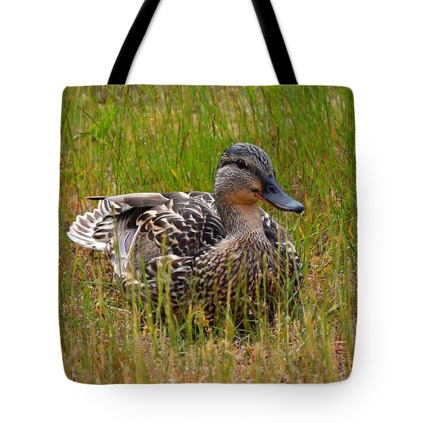 Sitting Duck Tote Bag
