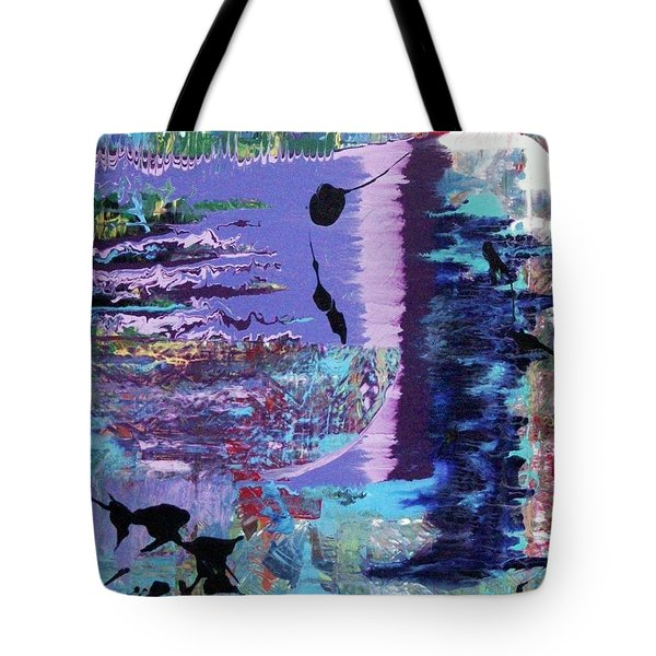 Sittin' On The Dock Of The Bay Wastin' Time Tote Bag