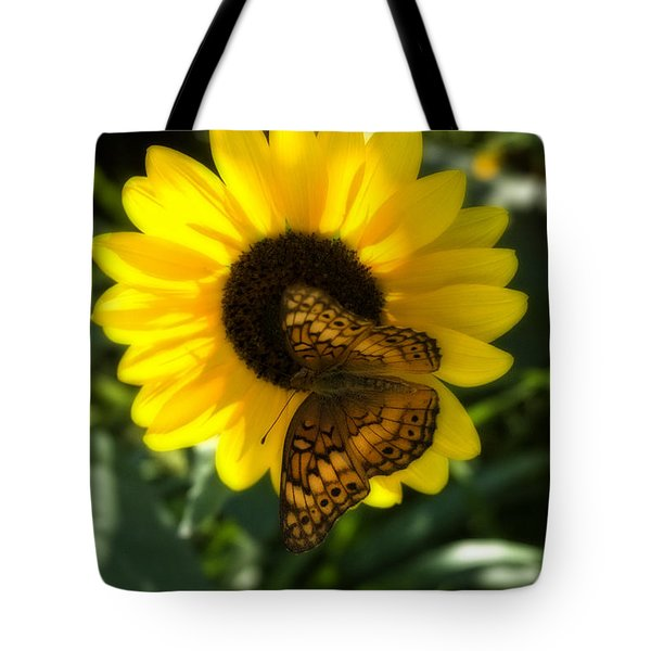 Sitting On The Sun Tote Bag