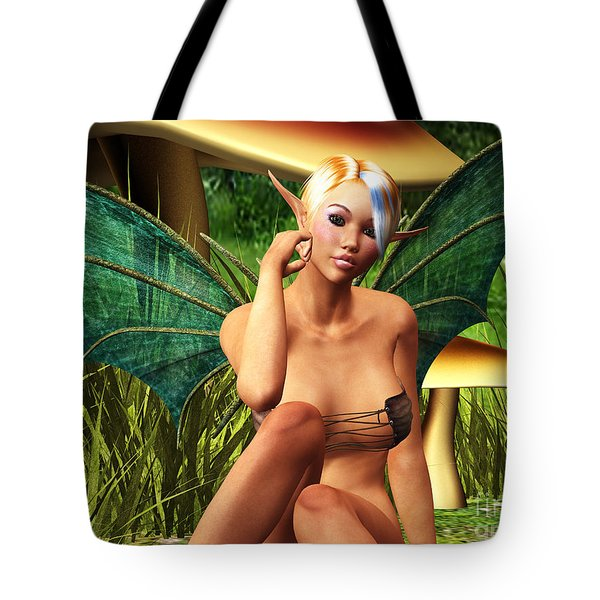 Sitting Pretty Tote Bag by Alexander Butler