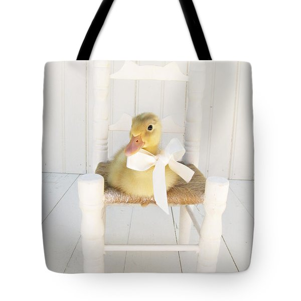Sitting Pretty Tote Bag by Amy Tyler