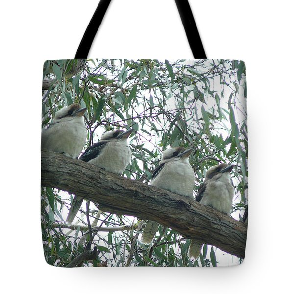 Six In A Row Tote Bag by Evelyn Tambour