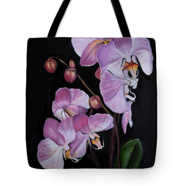 Six Orchids Tote Bag