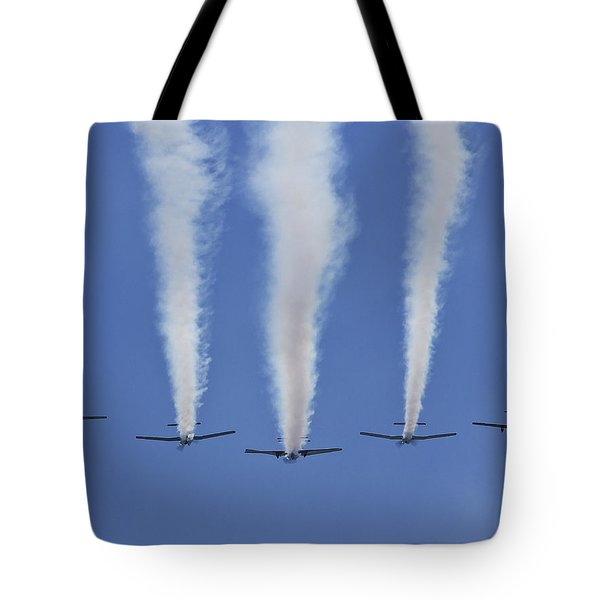 Tote Bag featuring the photograph Six Roolettes In Formation by Miroslava Jurcik