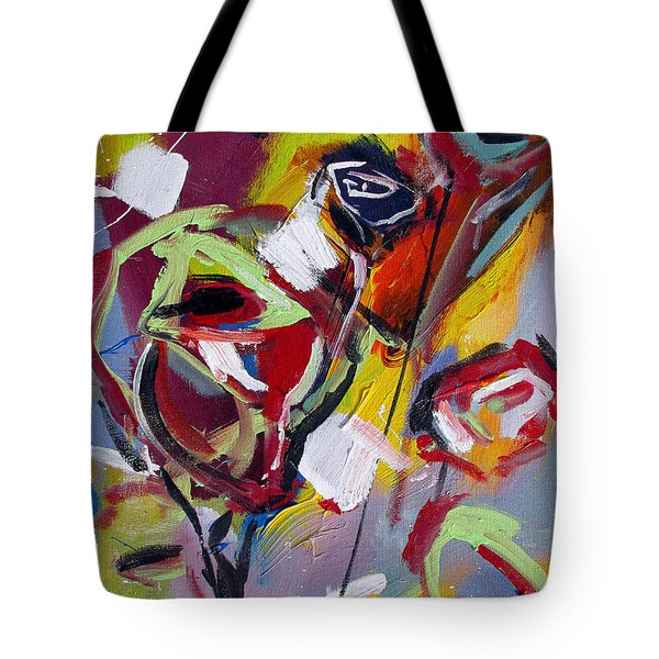 Six Roses Tote Bag