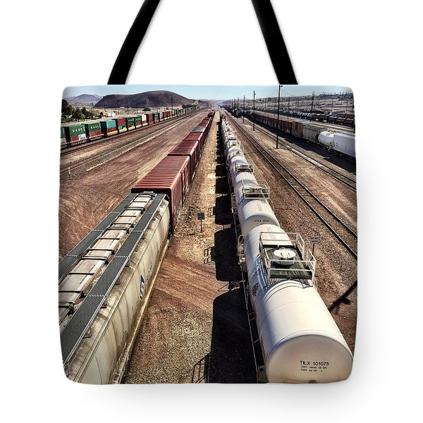 Six Trains Tote Bag