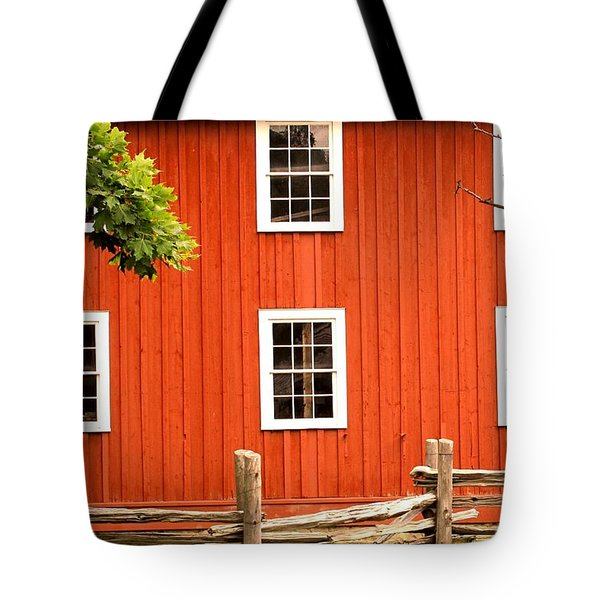 Six Windows Tote Bag