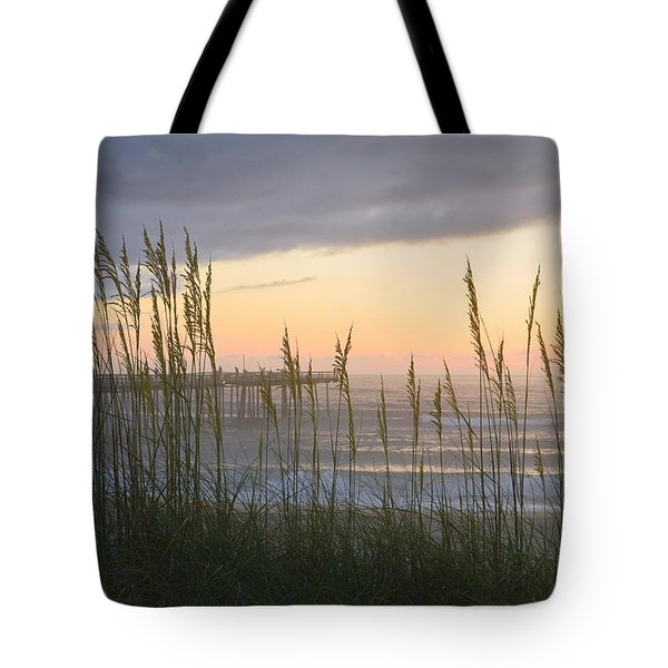 Tote Bag featuring the photograph Sixth Of July Sunrise by Barbara Ann Bell