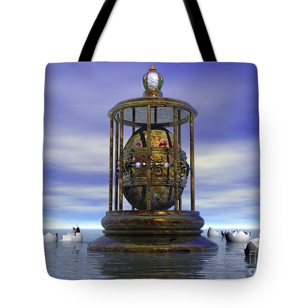 Sixth Sense - Surrealism Tote Bag