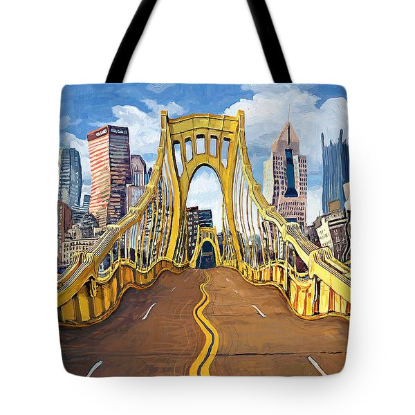 Sixth Street Bridge, Pittsburgh Tote Bag