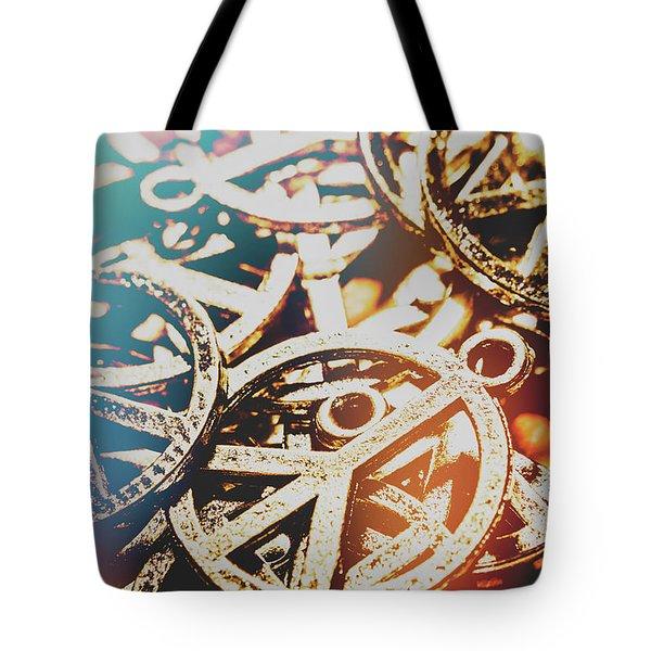Sixties Peace Revolution Tote Bag