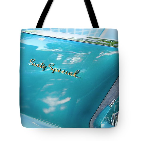 Tote Bag featuring the photograph Sixty Special Cadillac by Theresa Tahara
