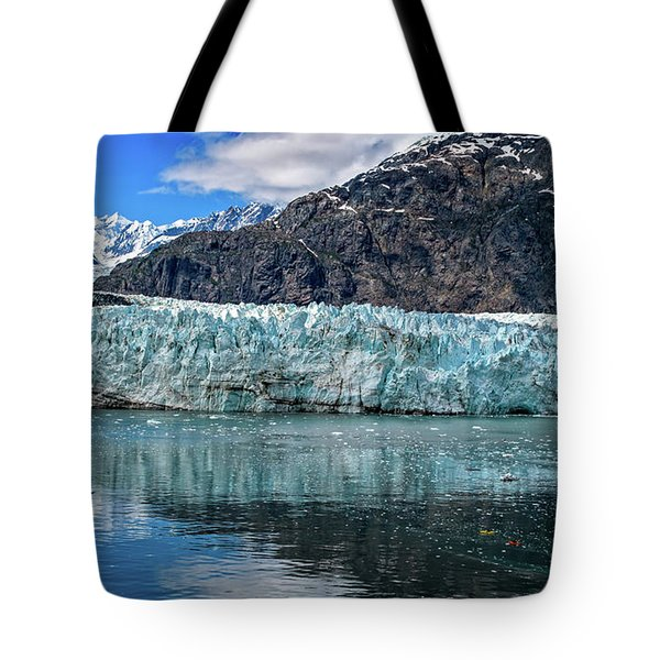 Size Perspective No Margerie Glacier Tote Bag