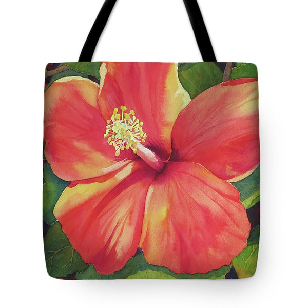 Sizzle Tote Bag by Judy Mercer