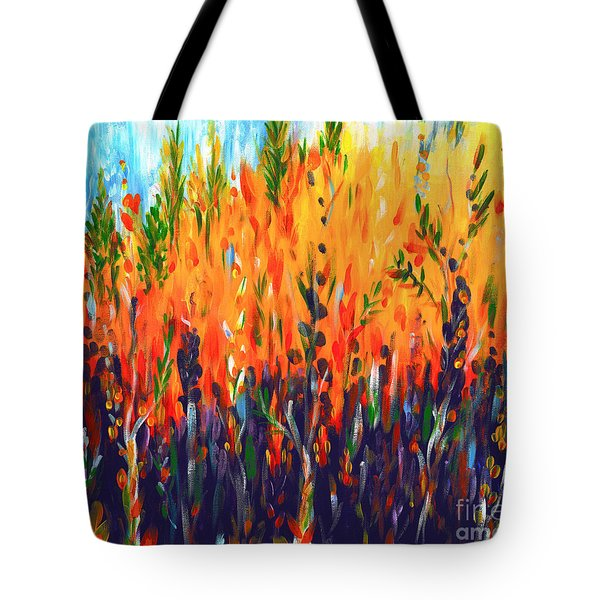 Sizzlescape Tote Bag by Holly Carmichael