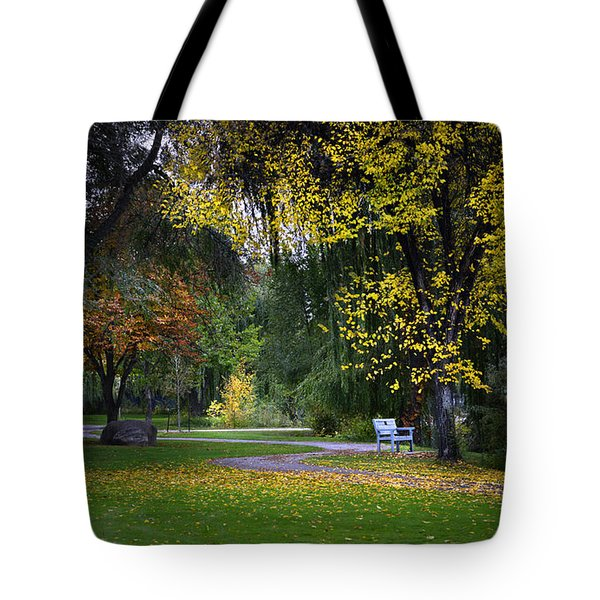 Skaha Lake Park Tote Bag