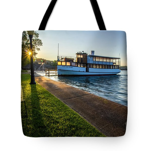 Skaneateles Lake Sunrise Tote Bag