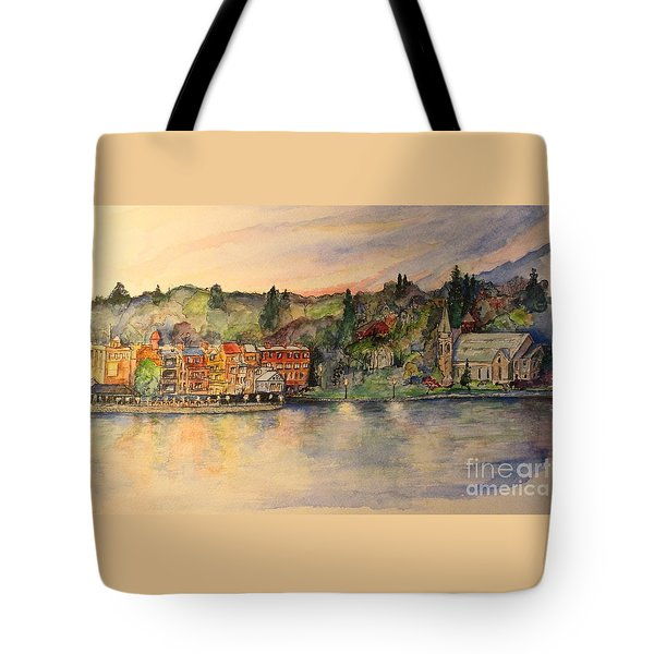 Sunday Evening Tote Bag