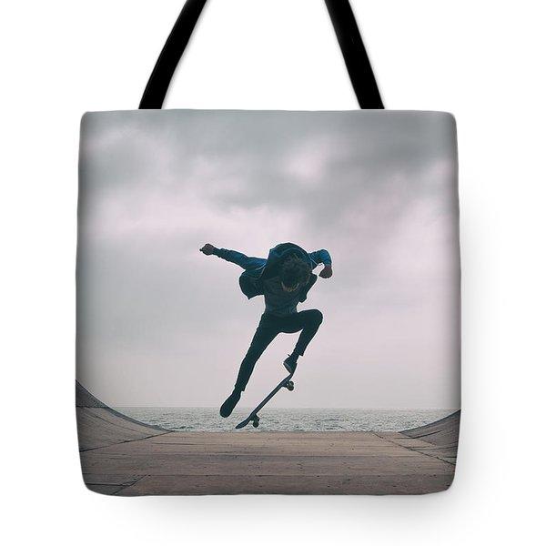 Skater Boy 004 Tote Bag