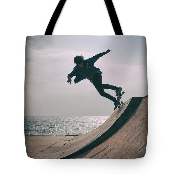 Skater Boy 007 Tote Bag