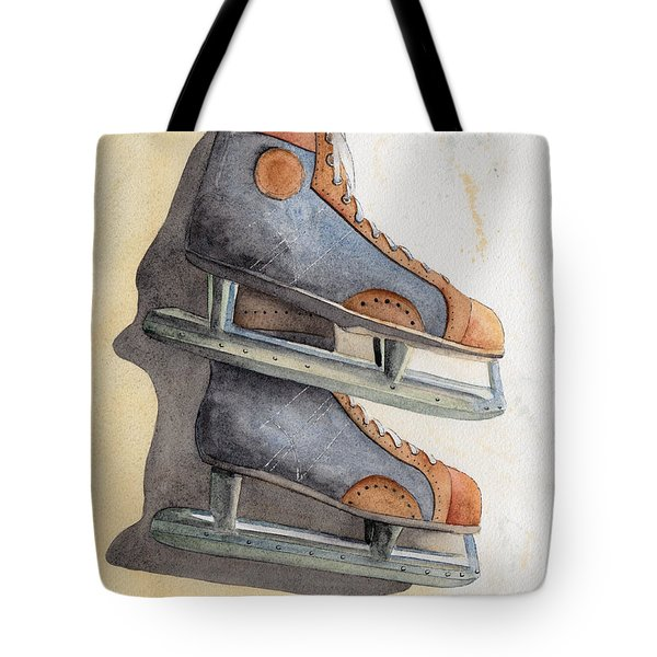 Skates Tote Bag by Ken Powers