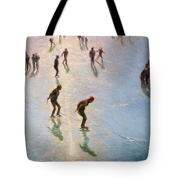 Skating In The Sunset  Tote Bag