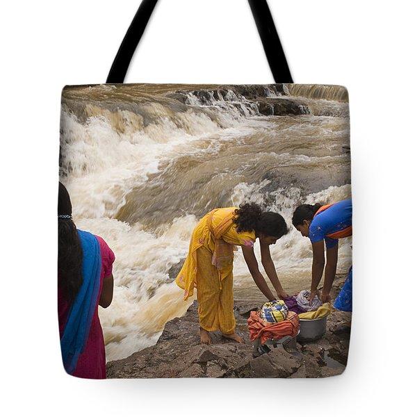 Skc 2621 A Collective Task Tote Bag by Sunil Kapadia