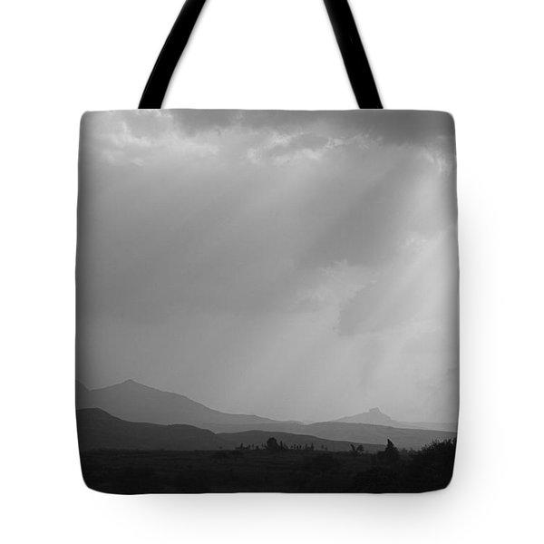 Skc 4928 Blessings Are Showering Tote Bag by Sunil Kapadia