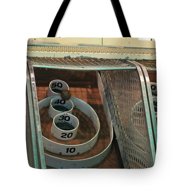 Skee Ball At Marty's Playland Tote Bag