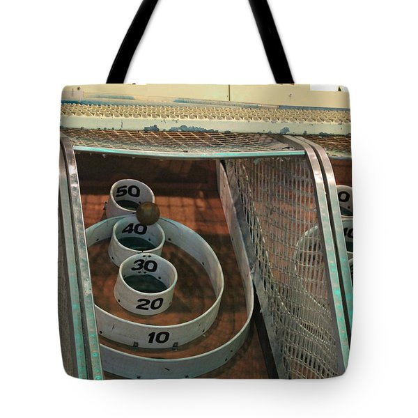 Skee Ball At Marty's Playland Tote Bag
