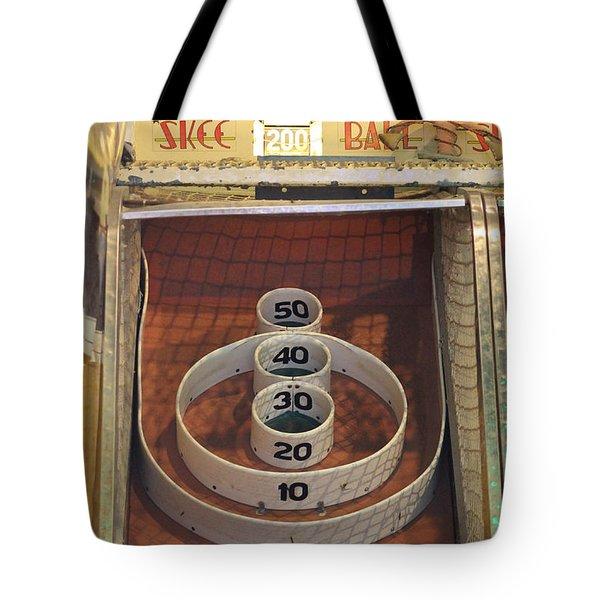 Skee Ball Winner Tote Bag by Robert Banach