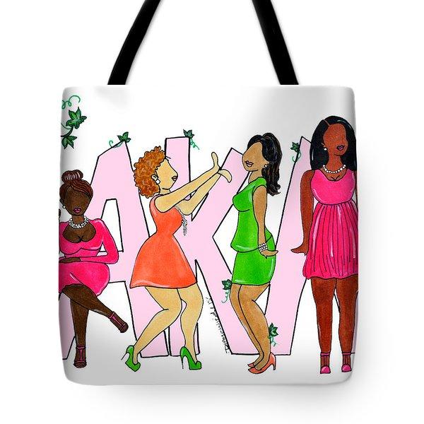Skee Wee My Soror Tote Bag by Diamin Nicole