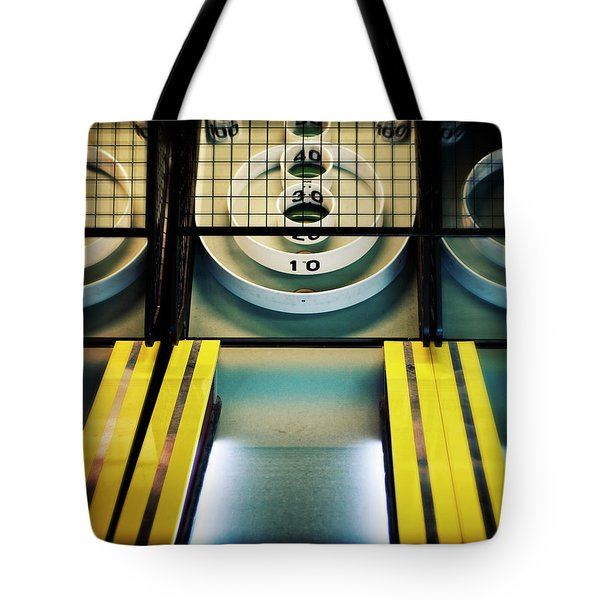 Skeeball Arcade Photography Tote Bag by Melanie Alexandra Price