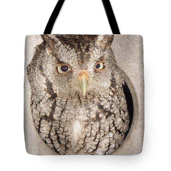 Skreech Owl Tote Bag