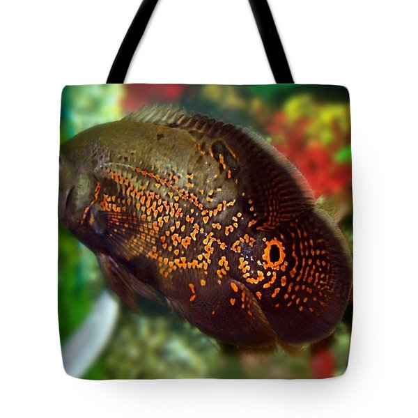 Tote Bag featuring the photograph Skeeter by Betty Northcutt