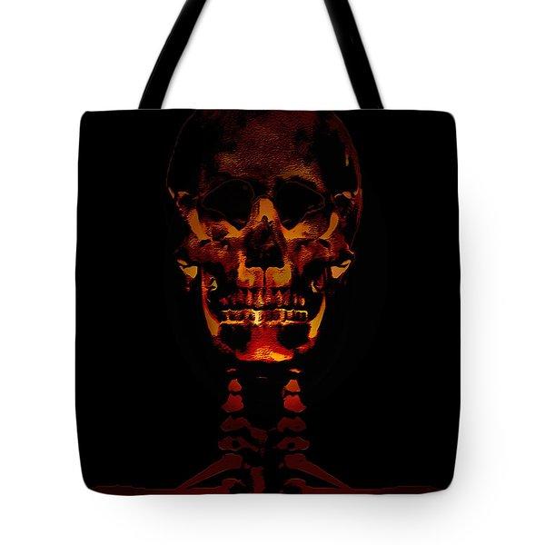 Skeleton - Halloween Selfie Tote Bag