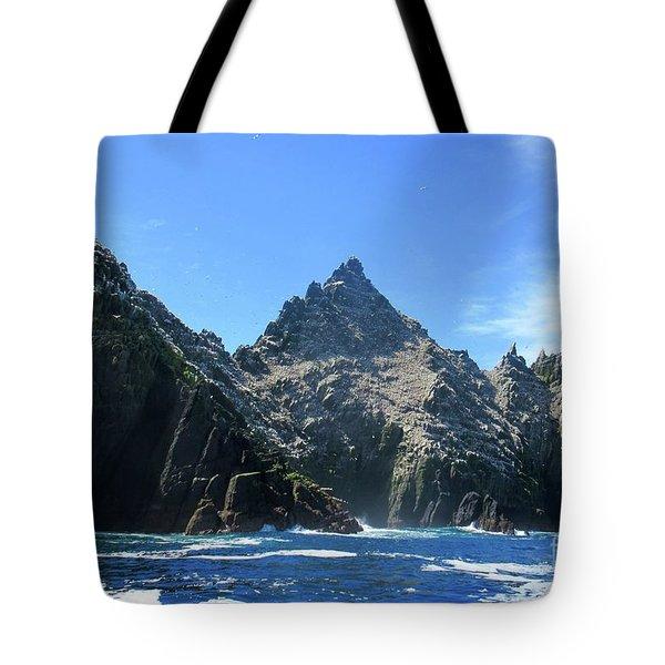 Skellig Islands 2 Tote Bag