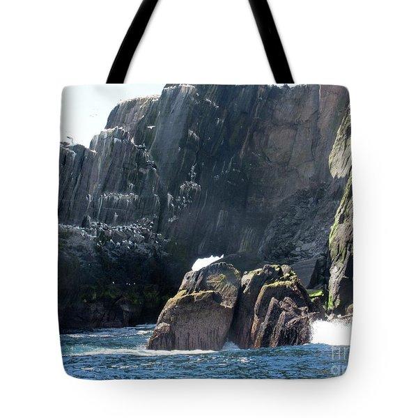 Skellig Islands 3 Tote Bag