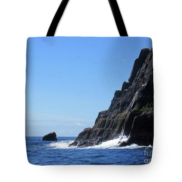 Skellig Islands 4 Tote Bag