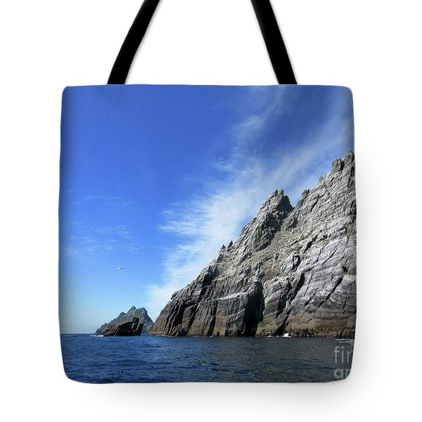 Skellig Islands 7 Tote Bag