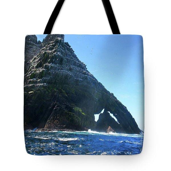Skellig Islands Tote Bag