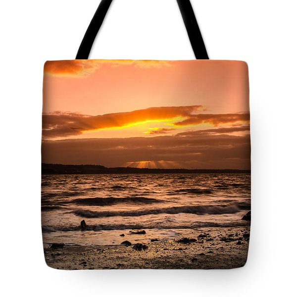 Skerries Tote Bag by Martina Fagan