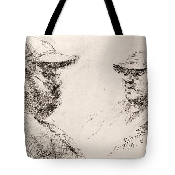 Sketch Man 10 Tote Bag